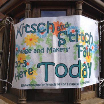 Kitsch and stitch…