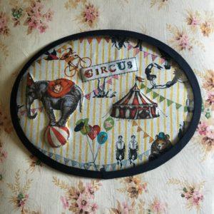 """cadre """"Magic Circus"""""""