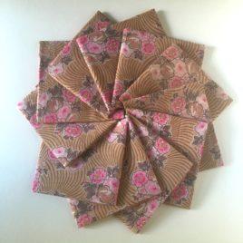 coton 30' moka rose fat