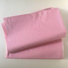 coton drap rayure serrée