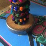 lampe bobine galon multicolore zoom