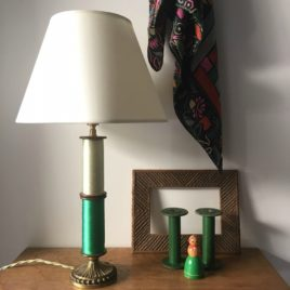 lampe bobines vertes