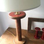 lampe rouge détail