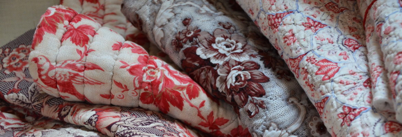 Boutis textiles anciens tissus