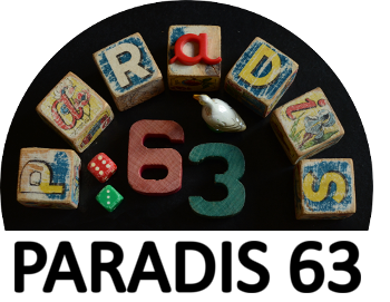 Paradis 63, brocante, tissus anciens, créations vintage