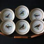 petites assiettes oiseaux
