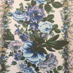 roses bleues motif