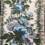 roses bleues motif coupon