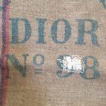 sac engrais Dior reprise