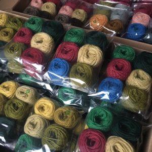 assortiment laine colbert