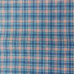 Petit écossais bleu et rose zoom