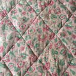 piqué de coton ancien motif