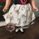 poupée folklorique autrichienne détail