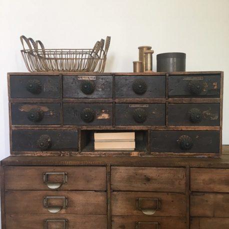 meuble atelier tiroirs à poser