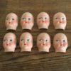 visages de poupée