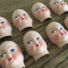 visage de poupée ancien