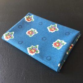 tissu souleiado bleu