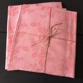 Toile à matelas rose