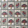 Tissu 1920 paniers motif