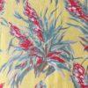 tissu ancien 60 plumets motif