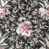 Bouquet fleurs et papillons motif