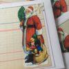 carte Noël chromo vintage