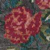 roses canevas détail
