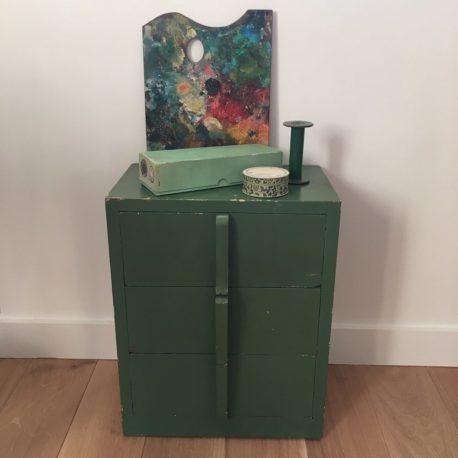 meuble vert