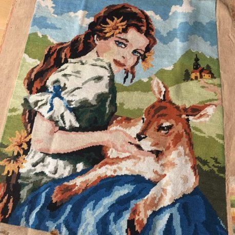 canevas l'agneau