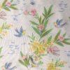 oiseaux et mimosa motif