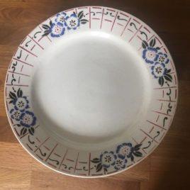 assiettes motif