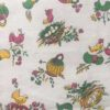 motif nids panier oiseaux