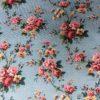 roses en guirlandes motif