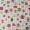 petits motifs vichy rose motif