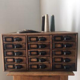meuble d'atelier tiroirs