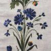 motif bleuet