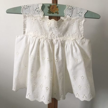 robe bb broderie anglaise