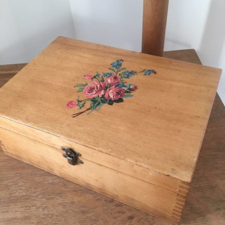 boite couture bois ancienne