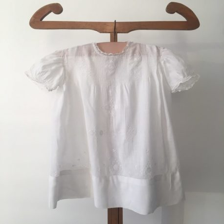 robe enfant coton fin brodée