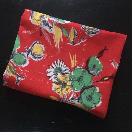 Bouquet vert tissu 60'