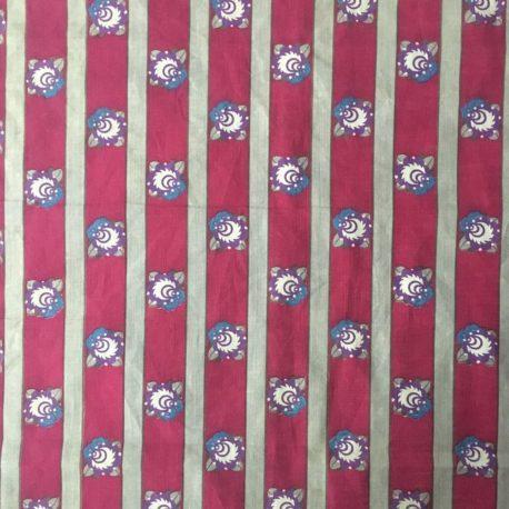 coton art deco ancien