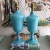 lampes opaline anciennes