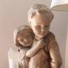 statue platre enfants