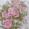 motif buisson de roses