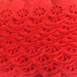 feston anglais rouge