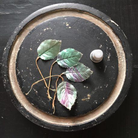 feuilles soie