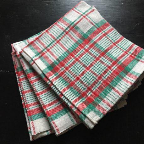 serviettes de table hollandaises vintage