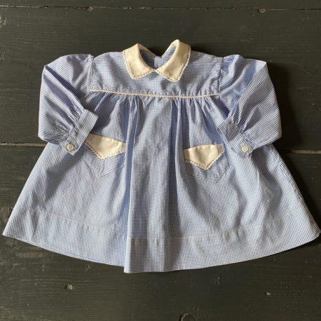 tablier bébé vintage 50'