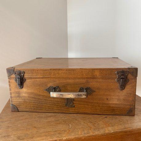 valise bois