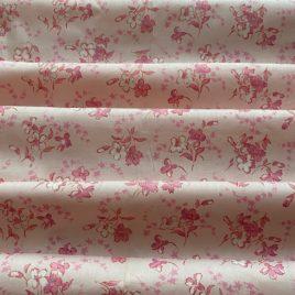 coton ancien rose à semis floral